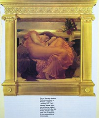 Leighton, Flaming June (looking_for_a_cause) Tags: english jonimitchell leighton flamingjune peoplesparties