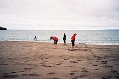 Exploring the Red Beach (madmoiselle.caldecott) Tags: ocean ireland sea summer holiday beach dingle figures august2006
