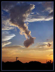note this (TexasValerie) Tags: sunset sky cloud texas note