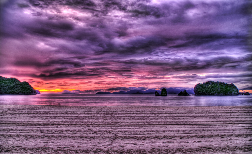 Purple Skies of Malaysia