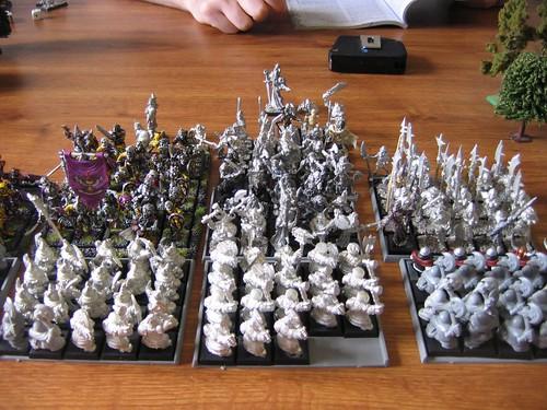 Warhammer - Vs Dave's Undead