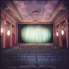 Maxim (miemo) Tags: cinema 120 6x6 film architecture suomi finland movie holga helsinki europe theater theatre kodak interior maxim getty vignetting portra gettyimages kodakportra100t interestingness45 explored i500