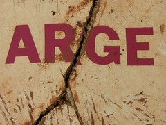 arge (destempsanciens) Tags: sign decay lettering pancarte glaneuse