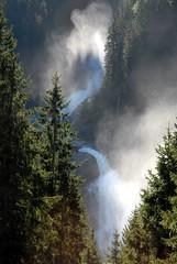Morning at waterfall