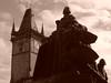 Prague (mattrkeyworth) Tags: statue prague sony praha townhall oldtownsquare p12 dscp12 mattrkeyworth