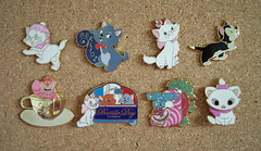My Disney Cats Pins #2 (isazappy) Tags: disney isabelle pintrading disneypin isazappy