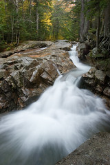 Pemigewasset River Cascade, Franconia Notch, NH (outdoorthespian) Tags: new water river waterfall pemigewasset hampshire basin badge granite cascade pothole nhwaterfallsproject