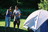 Jay and Farrah in the evening sun (Astro Photo) Tags: camping jason tent farrah