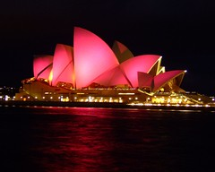 Opera House In Pink