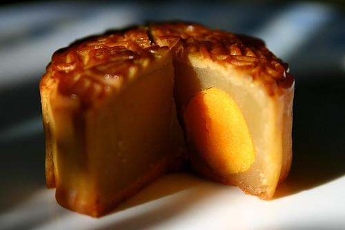 mooncake o pastel lunar tradicional