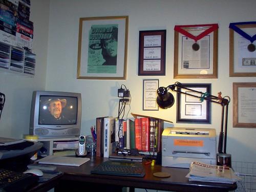My home office, part deux