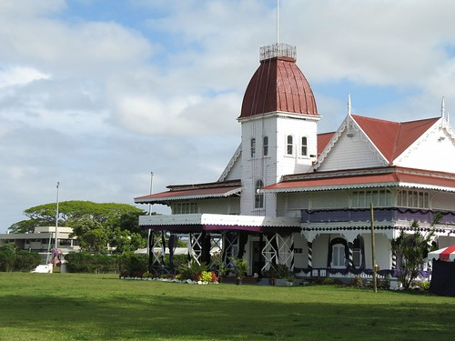 The king palace in Nuku'alofa por Antoine Hubert.
