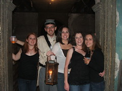 our haunted pub crawl tour guide.
