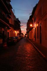 La Ciudad (kotobuki711) Tags: street city sunset night oldsanjuan puertorico abigfave p1f1