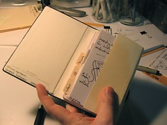 Getting Things Done - moleskine hipster insert - by jazzmasterson