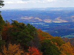 View From The Pinnacle V (mightyquinninwky) Tags: park autumn red orange mountains green yellow clouds landscape geotagged tn 10 kentucky ky lovely1 123 autumncolours explore va 500 overlook onwhite 31 1on1 onblack cumberlandgap helluva 4aces yourpride thecontinuum 2on2 lovephotography 1on1landscapes twtme mnfg commentscommentscomments flickrsmileys 123npdl viewonblack middlesboroky southeasternkentucky autumnlandscape phenomenalphotos pinncacle kentuckystatepark flickrhearts agradephoto globalvillage2 lunarvillage heartsaward platinumheartaward viewonwhite geo:lat=36622141 geo:lon=83687667 mightyquinninwky mightyquinninlex exploreformyspacestation