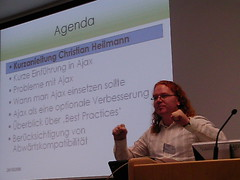 Chris Heilmann (Martin Kliehm) Tags: yahoo ajax darmstadt kongress christianheilmann chrisheilmann zgdv barrierefreiesegovernment