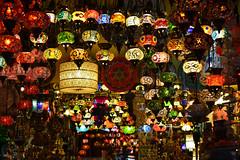(jen.ivana) Tags: light colors lamp asia turkey yellow red green orange travel
