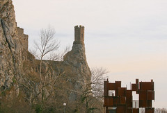 Mar 10: Devin Verticals (johan.pipet) Tags: flickr devin devín bratislava castle hrad veža tower cliff crag bralo rock sculpture art winter history memorial old slovakia slovensko eu europe palo bartos bartoš canon
