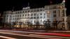 Atlantic Hotel Hamburg (Strandgutsuche) Tags: hotel 5 atlantic hamburg nightshot longexposure langzeitbelichtung zeiss distagon 21mm nikon d600 traffic lights scheinwerfer nachtaufnahme
