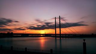 kniebrücke.sunset