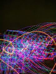 Light trails. (Ludvigem) Tags: light lights colors colourful night nightime speed slow shutter longexposure lightpainting movement