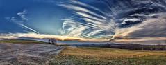 8R9A0391-98sPRtzl1TBbLGER2 (ultravivid imaging) Tags: ultravividimaging ultra vivid imaging ultravivid colorful canon canon5dm3 clouds winter sunsetclouds scenic sunset sky twilight farm fields pennsylvania pa rural vista panoramic landscape