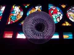 Transparences divines - Divine transparencies (p.franche Visit(ez) mes expositions) Tags: panasonic lumix fz200 bruxellesbrussel brussels belgium belgique belgïe europe pfranche pascalfranche hdr dxo phototab flickrelite schaerbeek schaarbeek yourbestoftoday church église saintesuzanne sintsuzanna lamp lampe ampoule verre vitrail transparence tansparency colors