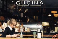 CUCINA (McLovin 2.0) Tags: candid street streetphotography cucina cafe people urban city melbourne australia shop window sony a7s 85mm