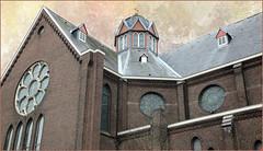 Saint Maria Magdalena, Goes, presqu'île de Zuid-Beveland, Zeelande, Nederland (claude lina) Tags: claudelina nederland hollande paysbas zeelande zeeland goes zuidbeveland ville town architecture église church