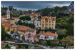 Sintra, Portugal. (Fotofricassee) Tags: sintra portugal roads buildings cars