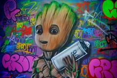 London Street Art 2018/042 (gary8345) Tags: 2018 uk unitedkingdom greatbritain britain england london southlondon croydon londonist graffiti streetart urbanart art artist artistic snapseed gnasher
