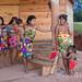 Embera women and children