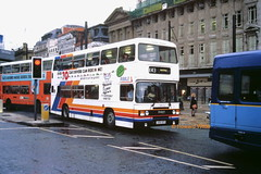 Ribble 2158 (A158 OFR) (SelmerOrSelnec) Tags: ribble stagecoach leyland olympian ecw a158ofr manchester mosleystreet x43 bus