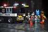 Justice in Gotham City (VISION TORRES) Tags: harleyquinn gotham batman dccomics lele minifigures minifiguras toys cogo bricks actionfigures police robin