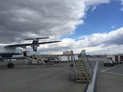 On ramp (kevincrumbs) Tags: reno renotahoeinternationalairport rno krno alaskaairlines as horizonair qx bombardier dash8 dash8q400 n430qx airliner