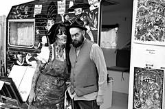 Zombie walk (Philippe Haumesser Photographies (+ 5000 000 views) Tags: zombie zombiewalk strasbourg alsace elsass france nikond7000 d7000 nikon reflex couple femme woman man homme portrait portraits