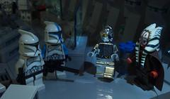 Awaiting Orders General (Ben Cossy) Tags: shaak ti 501st legion 501 clone clones grand army republic kamino base protocol droid jedi master star wars moc afol tfol lego