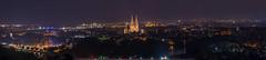 Dult- & Nachtpanorama von Regensburg (Tobi Becq) Tags: regensburg ratisbon panorama nightscape cityscape langzeitbelichtung pano longexposure longtime