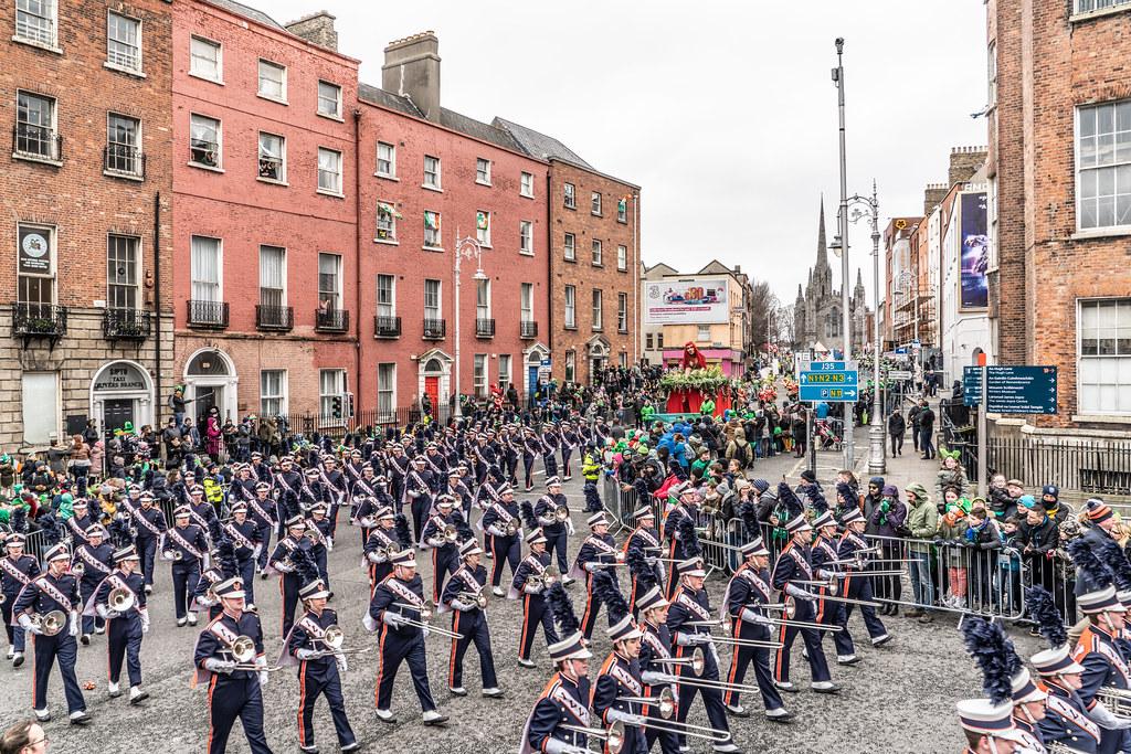 DUBLIN SAINT PATRICKS PARADE 2018 [THE MARCHING ILLINI]-137415