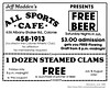 1986 All Sports Cafe (albany group archive) Tags: albany ny netroland june history 1986 all sports cafe colonie athletic club bar jeff madden shaker road