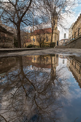 IMG_01570 (maro310) Tags: 2018 365project 70d budapest canon hungary magyarorszag szentfloriantemplom vizivaros church city clouds colours jarda outdoor pavement reflection sidewalk sightseeing sky spiegelung tel templom tree tukrozodes urban varosnezes winter 250v10f 500v20f