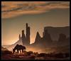 Monument Breakfast (Seeing Things My Way...) Tags: horse animal dawn sunrise sunup shadow silouette desert sand dust monumentvalley utah arizona usa wildwest