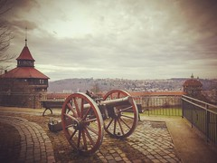Old Cannon (DrQ_Emilian) Tags: cannon old castle burgesslingen urban town city light colors details travel visit explore esslingen badenwürttemberg germany photography hobby outdoors historical