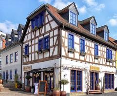 Idstein blau (wernerfunk) Tags: hessen architektur fachwerk