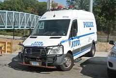 New York Police Department (Emergency_Spotter) Tags: new york police department ny queens criminal court freightliner van 2009
