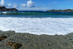 Rising tide (cdnfish) Tags: tofino tofinobc longbeach alberniclayoquot vancouverisland bc britishcolumbia canada beach blue water waves white clouds rocks rock pacific landscape landscapephotography seascape sony sonya7m2 a7m2