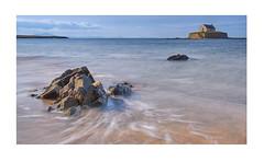 St Cwyfan's Church (alanbill99) Tags: anglesey island wales fuji xf23 shoreline