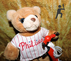 GO PHILLIES. Have a Great Season (marilyntunaitis) Tags: philadelphiaphillies mlb majorleaguebaseball teddybear stuffedanimals plush