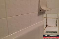 Tiled bathroom wall repaired and fixed. Home Renovation Deals in Greater Vancouver, BC (Handyman CHUCK) Tags: crackedgrout crumblinggrout crackedgroutrepairs crumblinggroutrepairs crackedgroutrepair crumblinggroutrepair bathroomtiles mold mildew bathroomtilerepairs bathroomtilerepair waterdamage caulking bathroomcaulking whocanfixbathroomtiles howtofixbathroomtiles blackbetweenbathroomtiles vancouver greatervancouver metrovancouver bc tiledbathroomwallrepairedandfixed